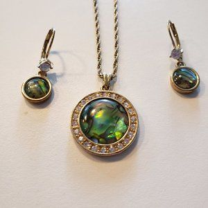 Vintage Avon NR Pendant and Earrings Set